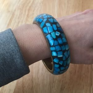 Turquoise Mosaic Bracelet